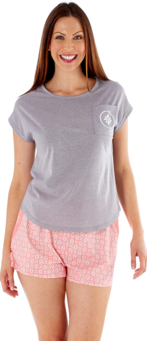 Pohodlné letní pyžamo Fordville s tričkem krátkým rukávem