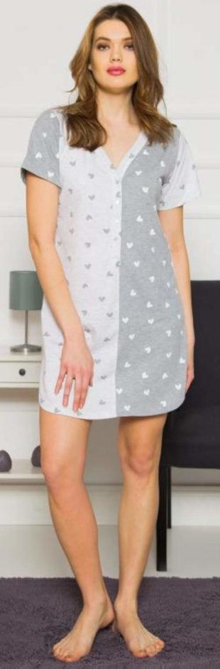 Roztomilá kojící dámská noční košile Vienetta Secret