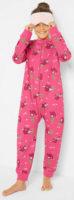 Růžový dívčí overal na spaní se zipem
