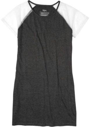 Dámská noční košile v rafinovaném střihu s krajkovými rukávy